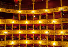 Teatro Verdi, Trieste Stock Images