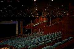 Teatro vuoto fotografie stock libere da diritti