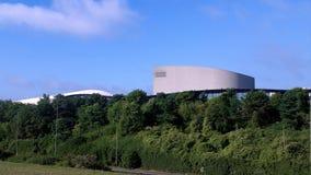 Teatro y Xscape del MK en verano Imagenes de archivo