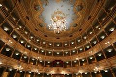 Teatro Zandonai Fotografie Stock Libere da Diritti