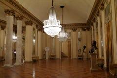 Teatroalla Scalo, beroemde theatar van Milaan Royalty-vrije Stock Foto's