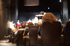 Teatru audytorium Zdjęcie Royalty Free