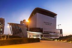 Teatru budynek w Ashdod w wieczór, Obrazy Stock