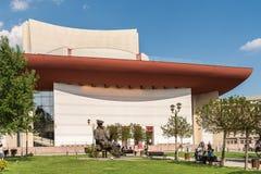 Teatru Narodowego jon Luca Caragiale W Bucharest Obrazy Royalty Free