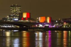 Teatru Narodowego poparcie Belgia z czernią, kolorem żółtym i czerwoną flaga, Zdjęcia Royalty Free