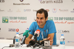 TEB BNP Paribas Istanbul Open Royalty Free Stock Photo