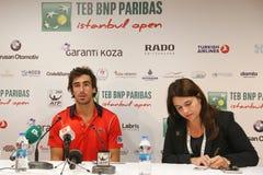 TEB BNP Paribas Istanbul Open Stock Photo