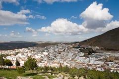 Teba. Cityscape in Malaga, Spain Stock Photo