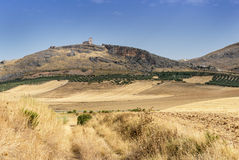 Teba Castle Stock Images