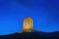 Teba slottstad i landskapet av Malaga Royaltyfri Foto