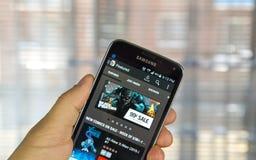 Tebeos app de la maravilla Imagen de archivo libre de regalías