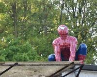 Tebeos de las celebridades Super héroe de los tebeos de la maravilla de Spider-Man Hombre araña Fotografía de archivo libre de regalías