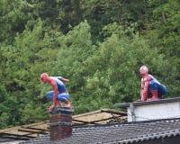 Tebeos de las celebridades Super héroe de los tebeos de la maravilla de Spider-Man Hombre araña Imágenes de archivo libres de regalías