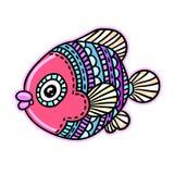 Tebeos mar de la historieta o pescados del río Fotografía de archivo libre de regalías