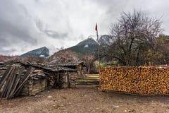 Tebetan family compounds Royalty Free Stock Photos