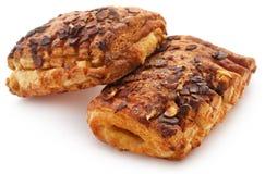 Tebirkes, genre de pain danois Images libres de droits