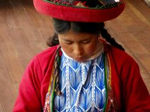 Tecelão do Peru fotos de stock royalty free