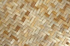 Tecelagem do bambu ou da palha Imagem de Stock