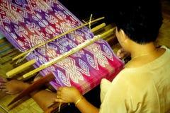 Tecelagem do kumbu de Pua Fotos de Stock Royalty Free