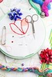 Tecelagem e ornamento Imagens de Stock Royalty Free