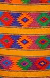 Tecelagem maia tradicional colorida, Guatemala Imagem de Stock