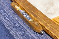Tecelagem tradicional Fotografia de Stock