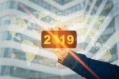 tech 2019 royaltyfria bilder