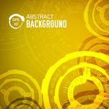 Tech abstract background concept.  illustration Stock Image
