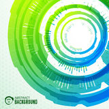 Tech abstract background concept.  illustration Royalty Free Stock Photography