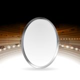 Tech abstract background with metallic ellipse Stock Photos