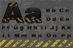 Tech alphabet (part 1 of 2) Stock Photo