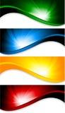Tech background. Set of tech background; clip-art Stock Photography