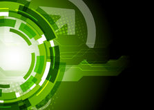 Tech background. Bright tech background in dark green color Royalty Free Stock Photography
