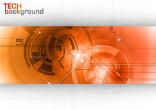 Tech background Royalty Free Stock Images