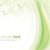 Tech Background. Abstract green background in tech style whit space for text Stock Photos