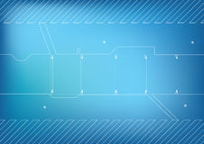 Tech background. Easy to resize or change color Royalty Free Stock Photos