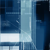 Tech background. In blue tones Royalty Free Stock Images