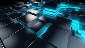 Tech background Grid Stock Image