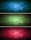 Tech banners collection Royalty Free Stock Images