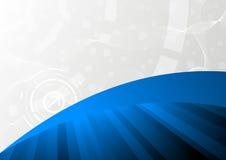 Tech blue background. Clip-art Stock Images