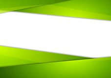 Tech corporate abstract green background Stock Image