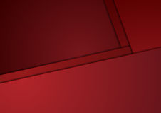Tech corporate red minimal material background Royalty Free Stock Images