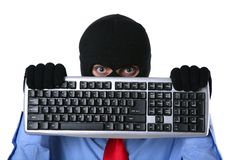 Tech criminal Royalty Free Stock Images