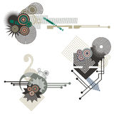 Tech design elements series Stock Image
