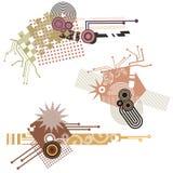 Tech design elements series Stock Photography