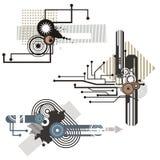 Tech design elements series Royalty Free Stock Photo