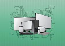 Tech device electronics Royalty Free Stock Image