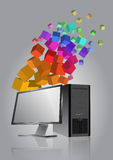 Tech device Stock Images