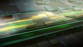 Tech dimension background
