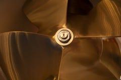 Tech för detalj för fartygpropellernärbild trevlig Fotografering för Bildbyråer